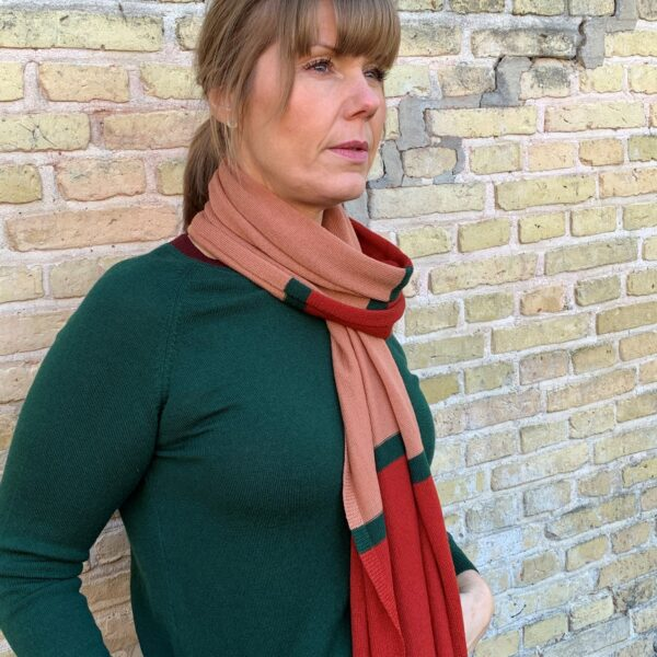 Strik, Acc. no. 3 Tørklæde/sjal - flere varianter